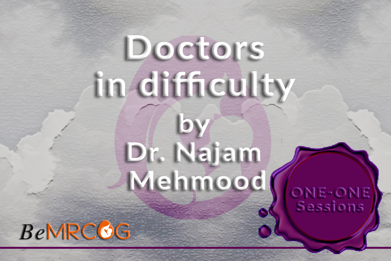 Doctors in Difficulty (Dr Najam Mahmood 2019) logo